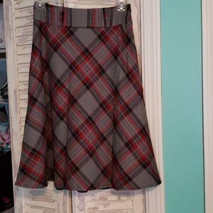 Plaid Skirt East 5th